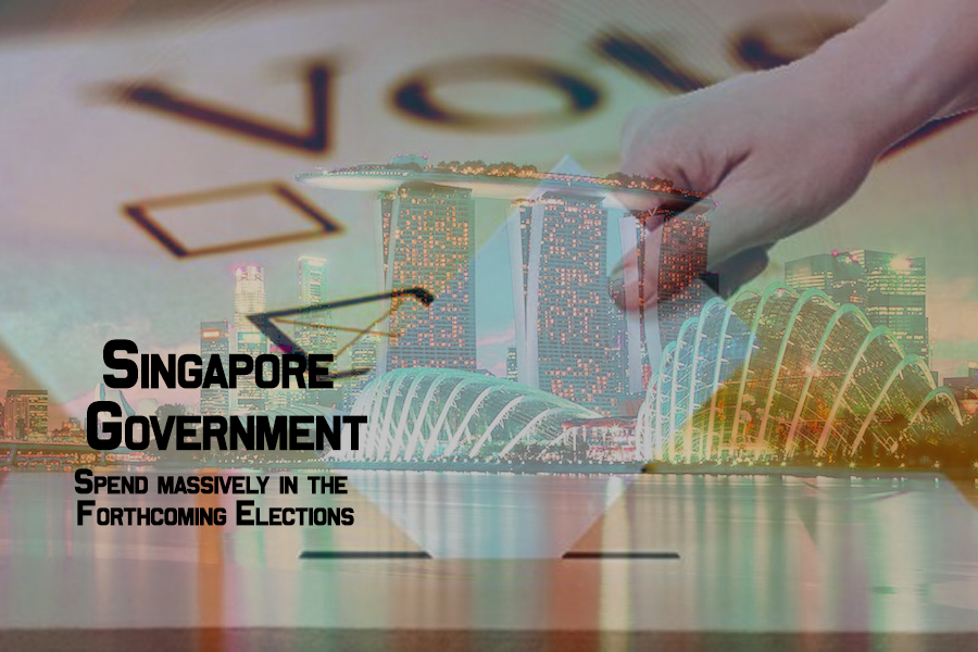 Government of Singapore is planning to spend massively in the Forthcoming Elections