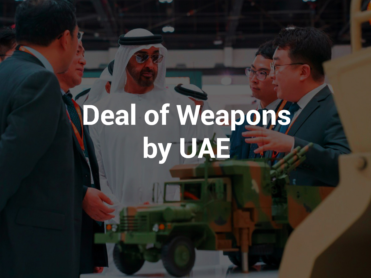 weapons deal by UAE