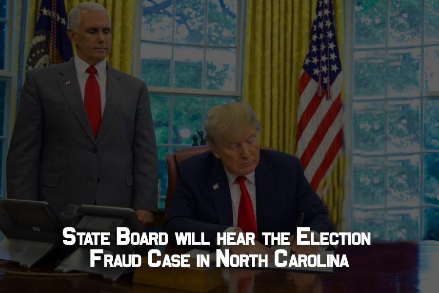 State Board will hear misconduct in the North Carolina elections