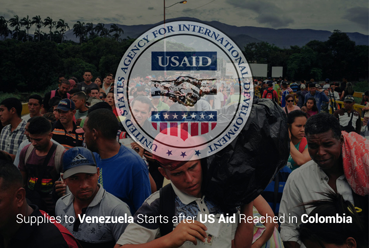 Supplies to Venezuela begin after US aid reached in Colombia