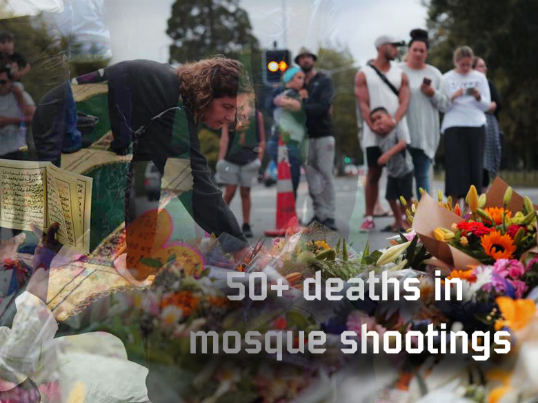 Death toll increased to 50 in deadly mosque shooting in New Zealand