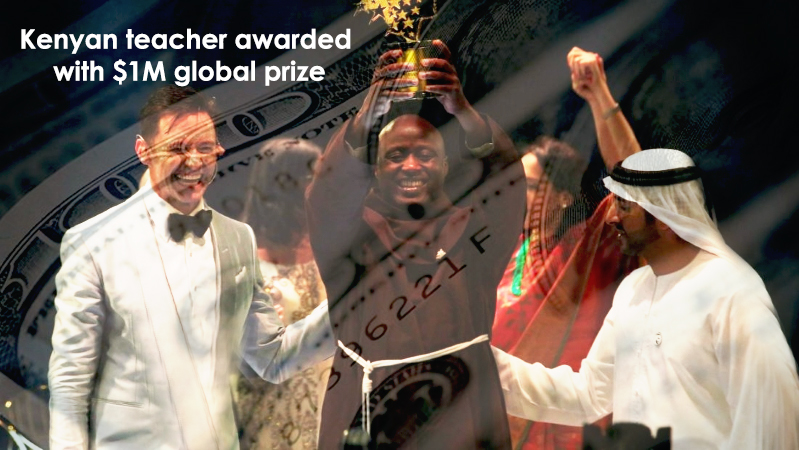 One Million Dollar Global Prize Awarded to Kenyan Teacher