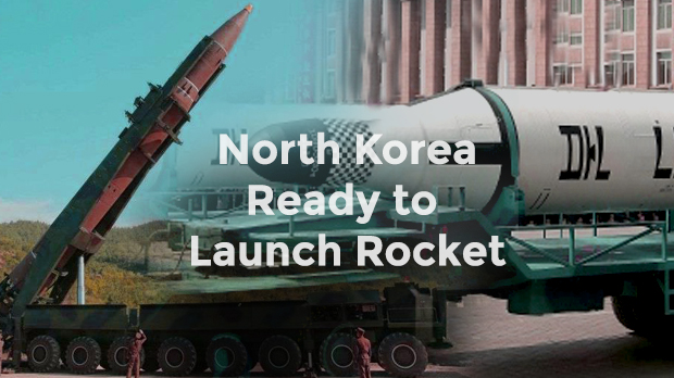North Korea is get ready to Launch Rocket