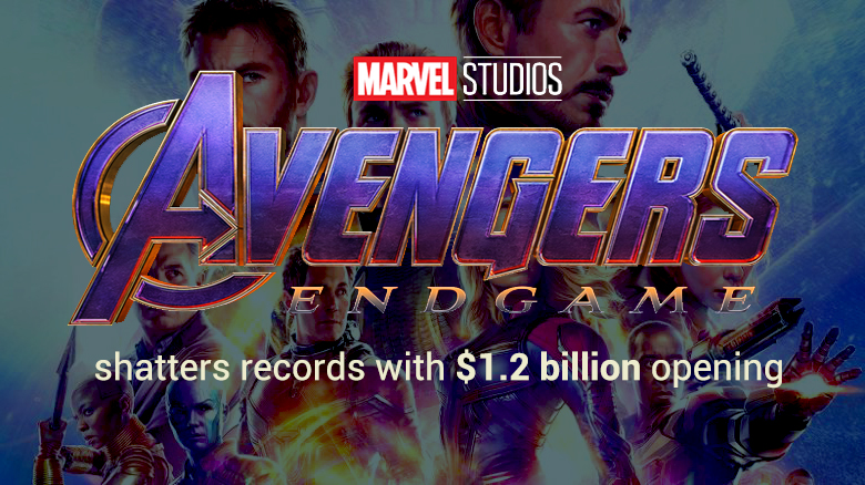 Avengers: Endgame breaks all Records with Opening Weekend of $1.2 Billion