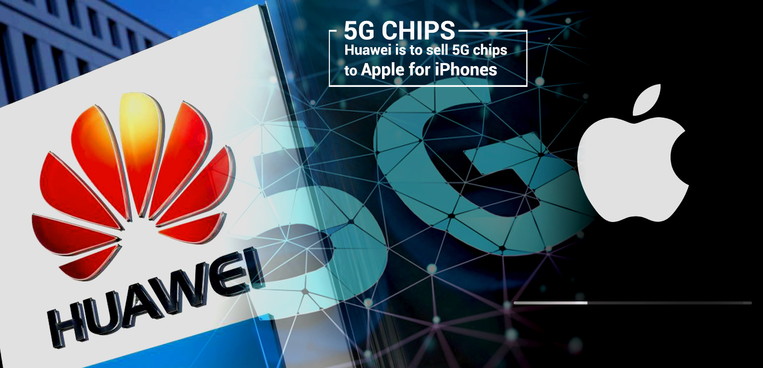 Huawei CEO Confirms the news to sell 5G chips to Apple