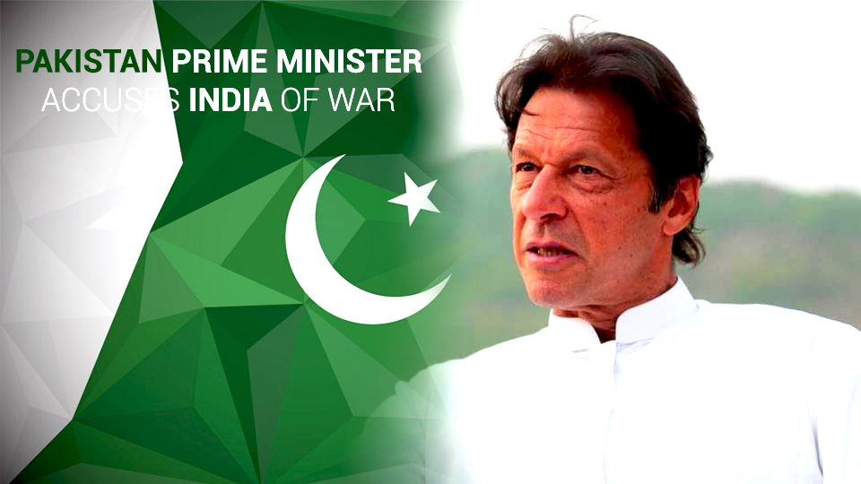 Imran Khan Accused India as War Hysteria against their Downed Aircraft Claim
