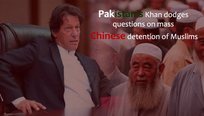 Imran Khan Dodge Questions About Chinese detention of Muslims
