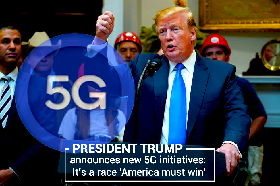 Donald Trump Declares New Initiatives for 5G to win the Race