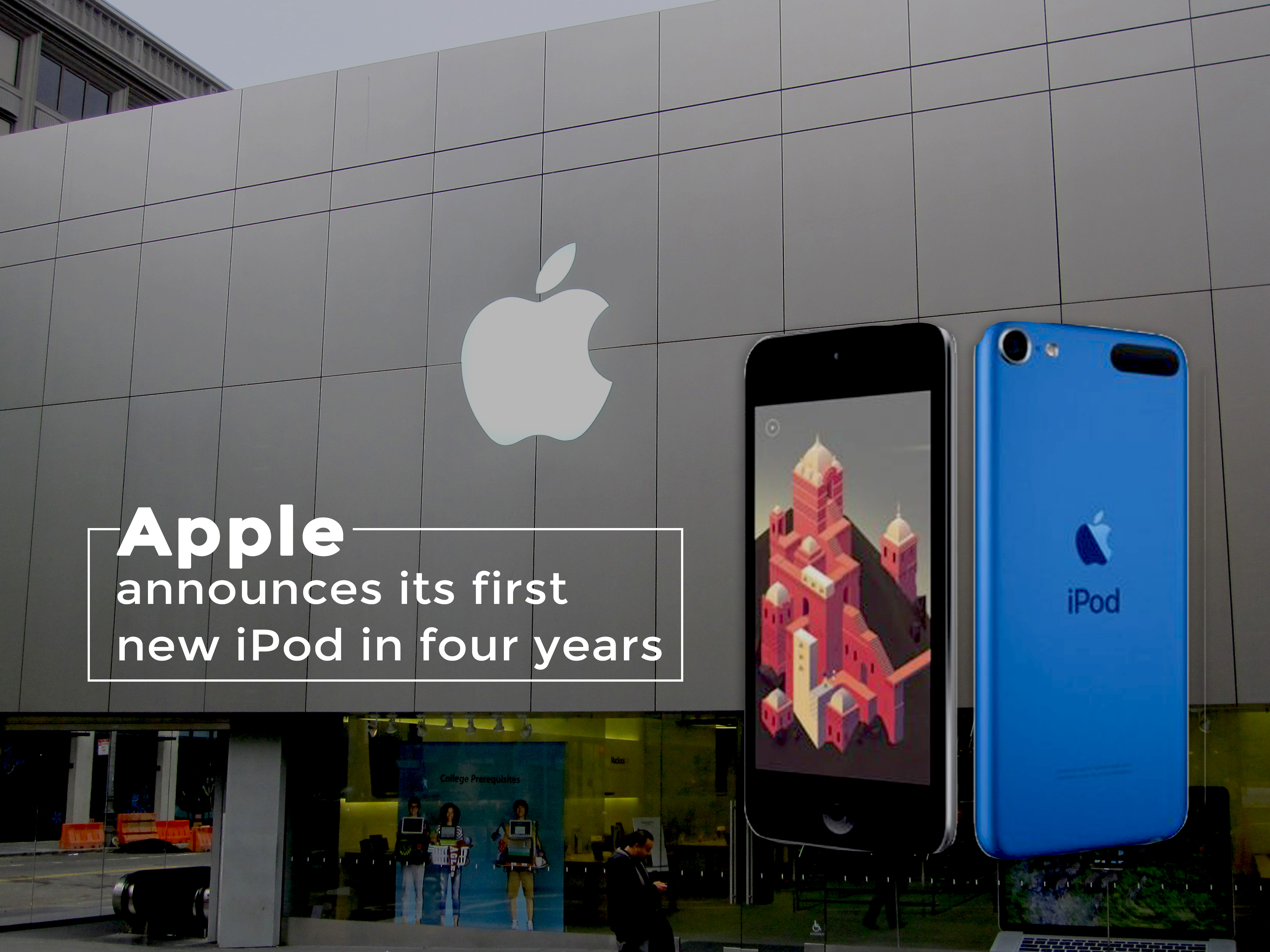 Apple Announced its First New iPod in Last Four Years