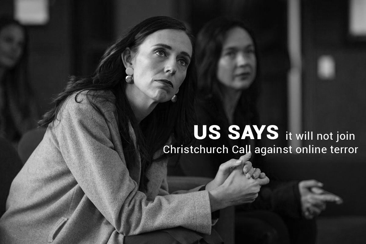 Not to Join Christchurch Call against online Terror – United States
