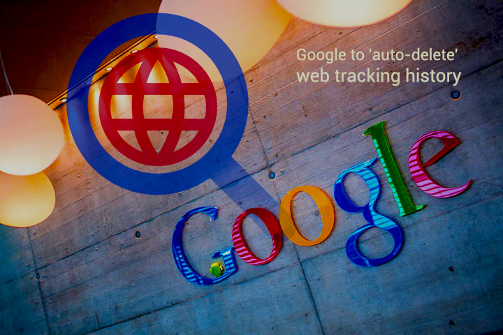 To allow auto-Delete Web Tracking History in future– Google