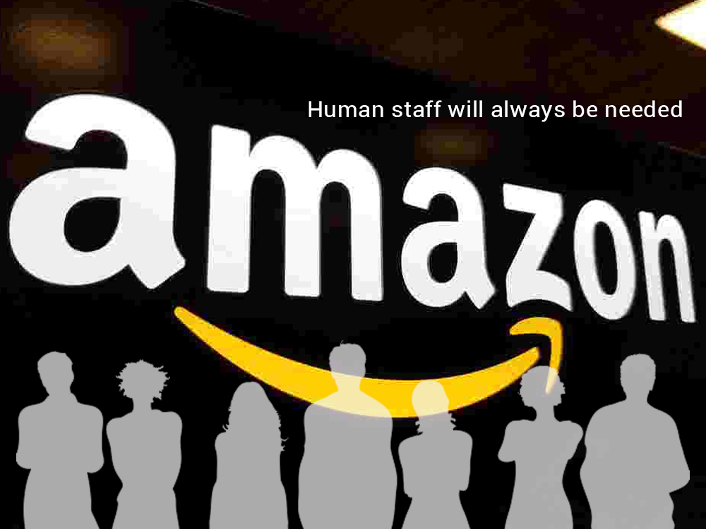 Amazon Insist for the Need of Human Staff in Warehouses