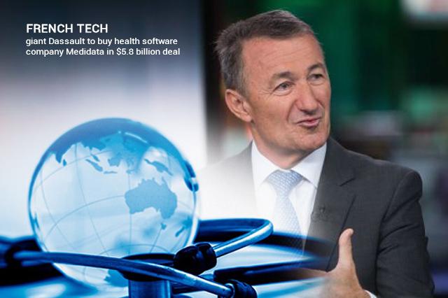 Dassault to Purchase Medidata in a Deal of $5.8 billion