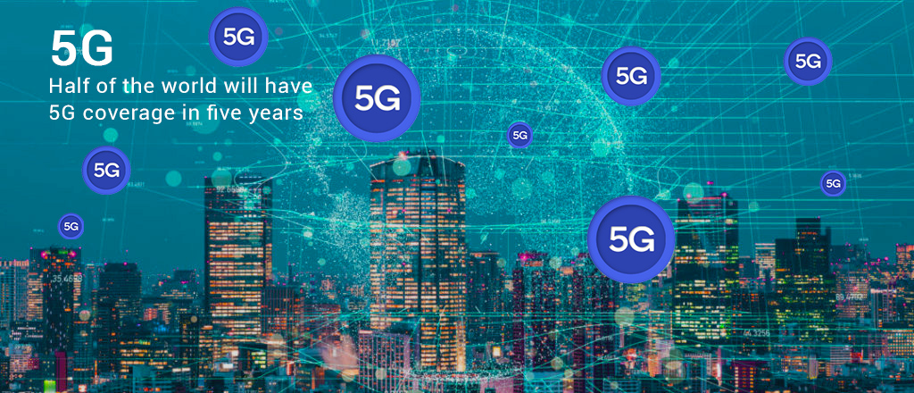 Half of the World will have 5G Coverage in Next Five Years