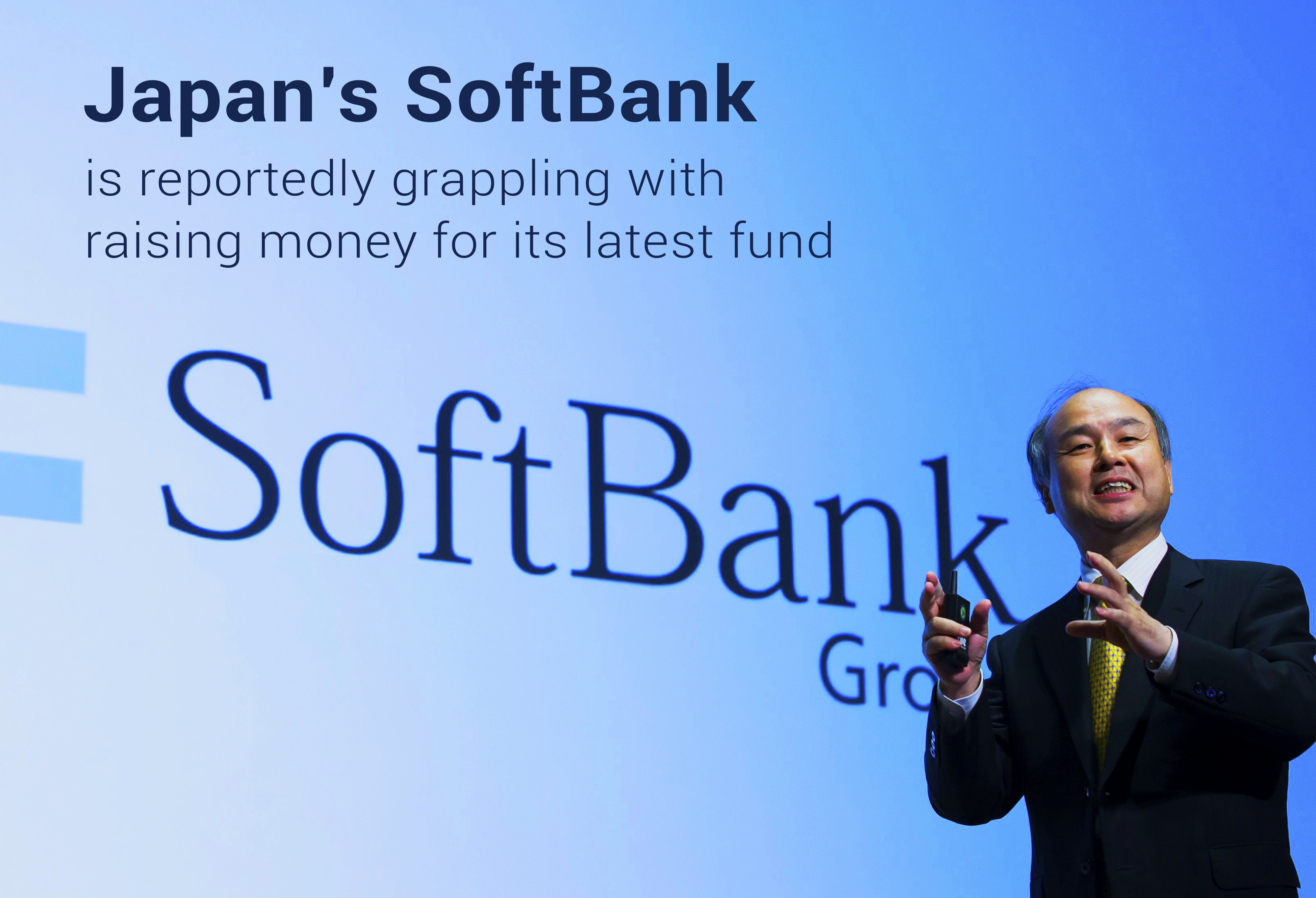 Softbank of Japan is grappling with Money Raising for Latest Fund