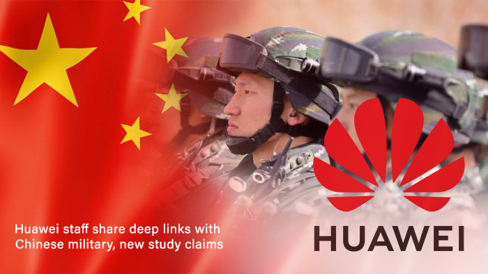 Deeper Links among Chinese military & Huawei Staff - Study
