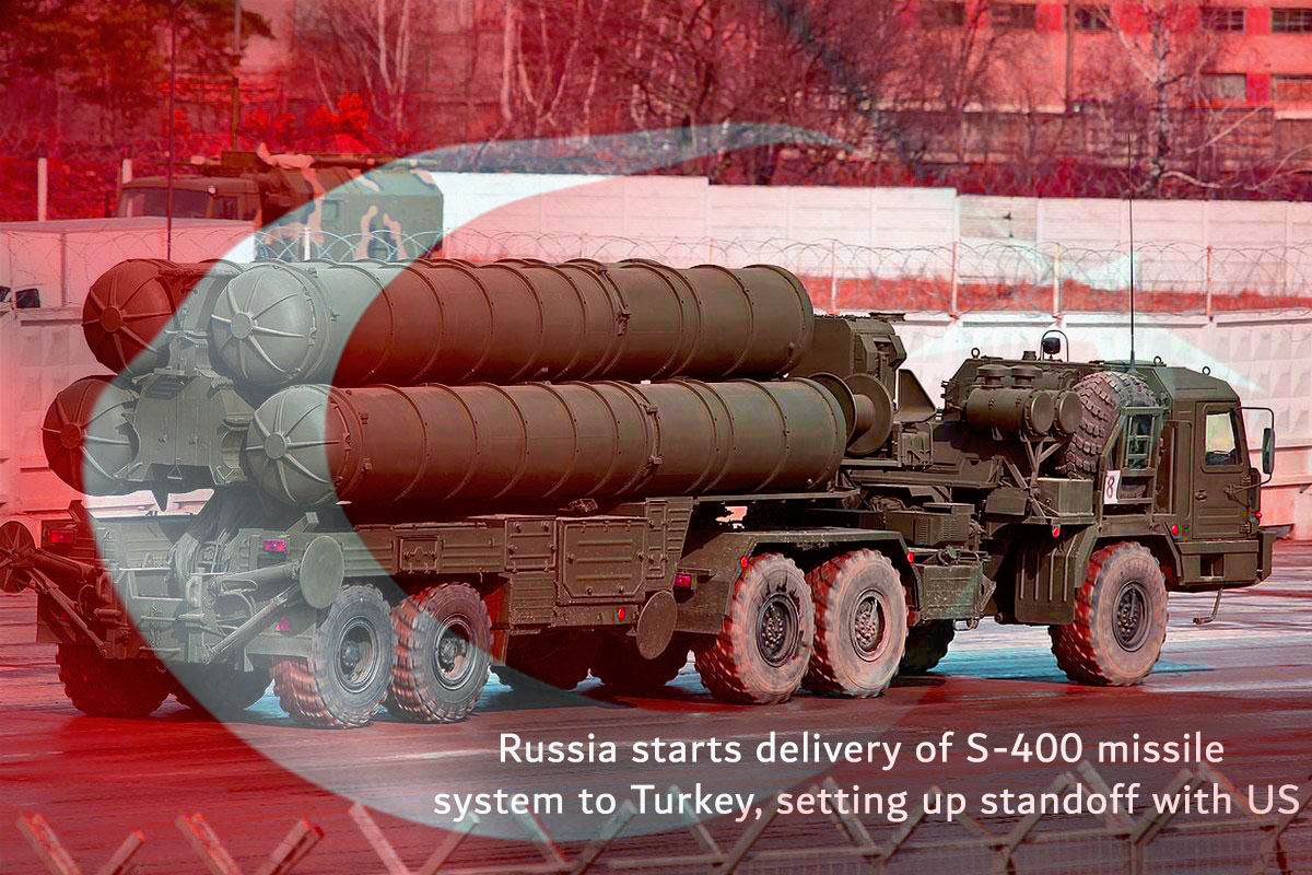 Turkey is Receiving the S-400 missile system's Delivery from Russia