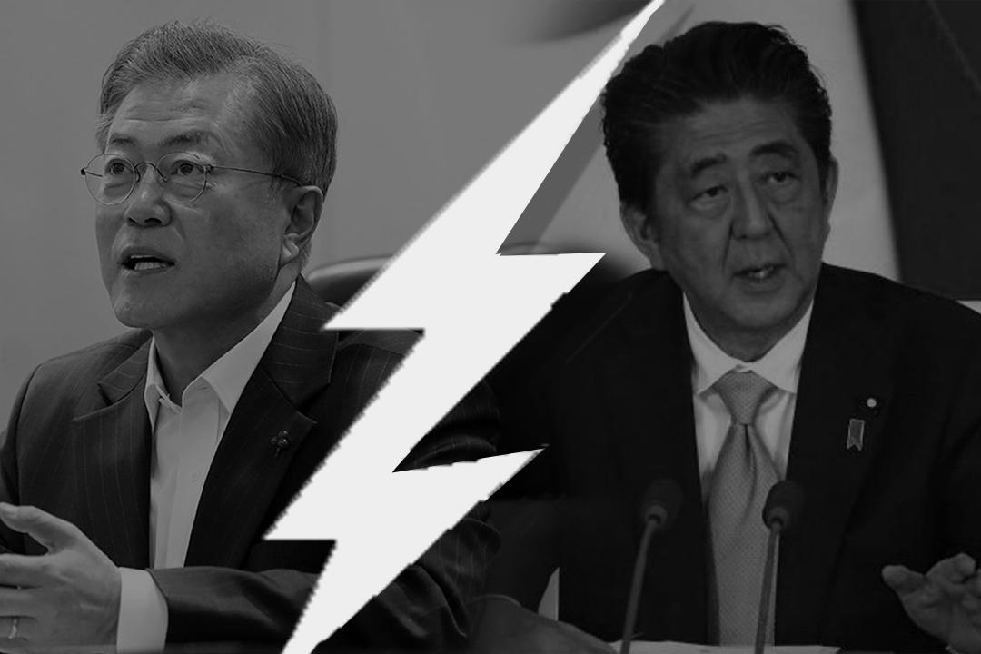 Strain between South Korea and Japan is growing