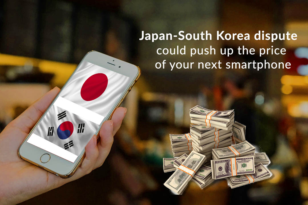The Conflict of Japan & South Korea could Impact on Prices of Semiconductor