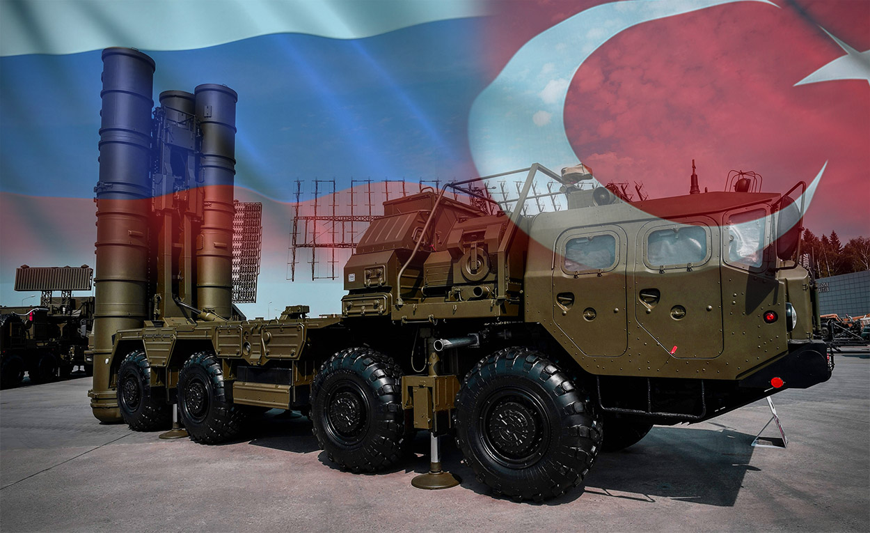Russia Delivered the S-400 missile system first Shipment to Turkey