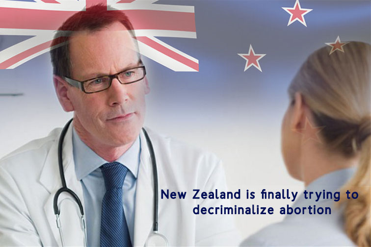 New Zealand to Decriminalized Abortion from Country's Law