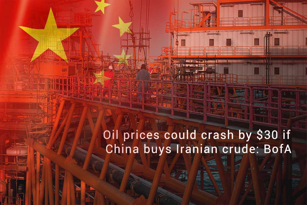 Oil Prices May Drop by $30 per Barrel if China Buys Iranian Oil