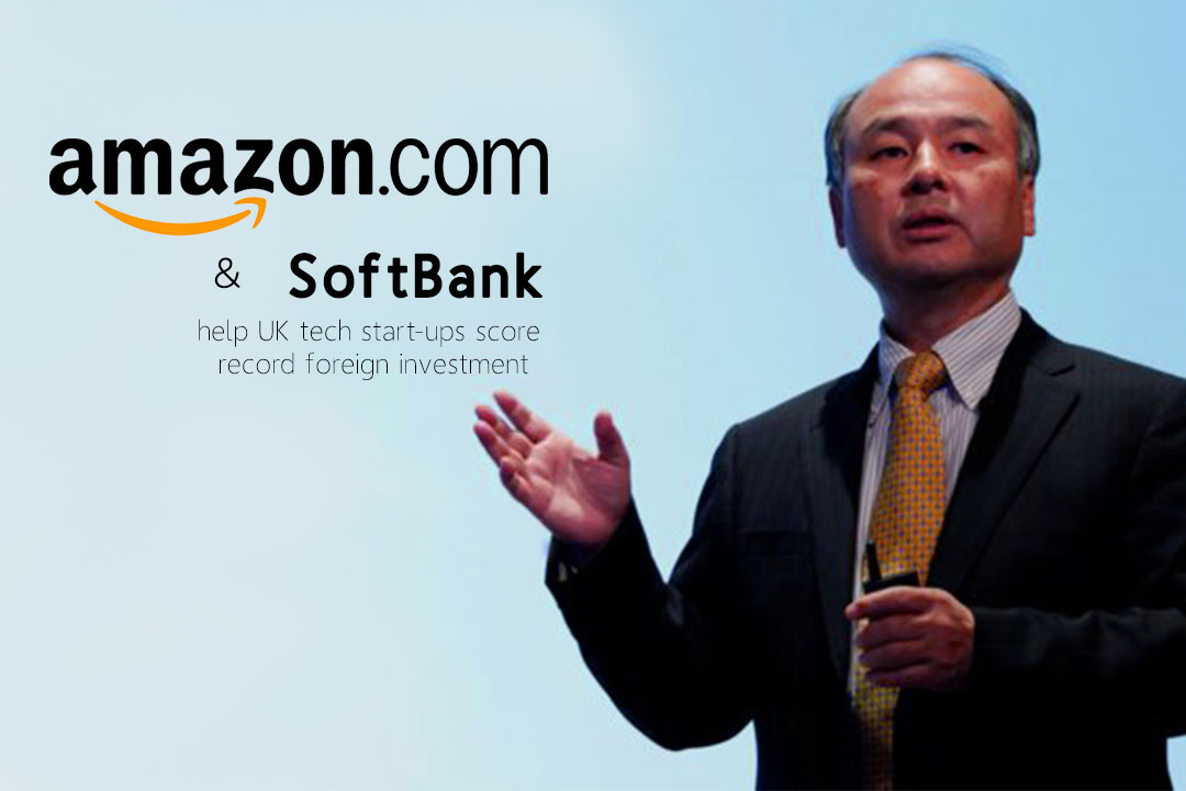 Softbank & Amazon collectively help Tech start-ups of UK