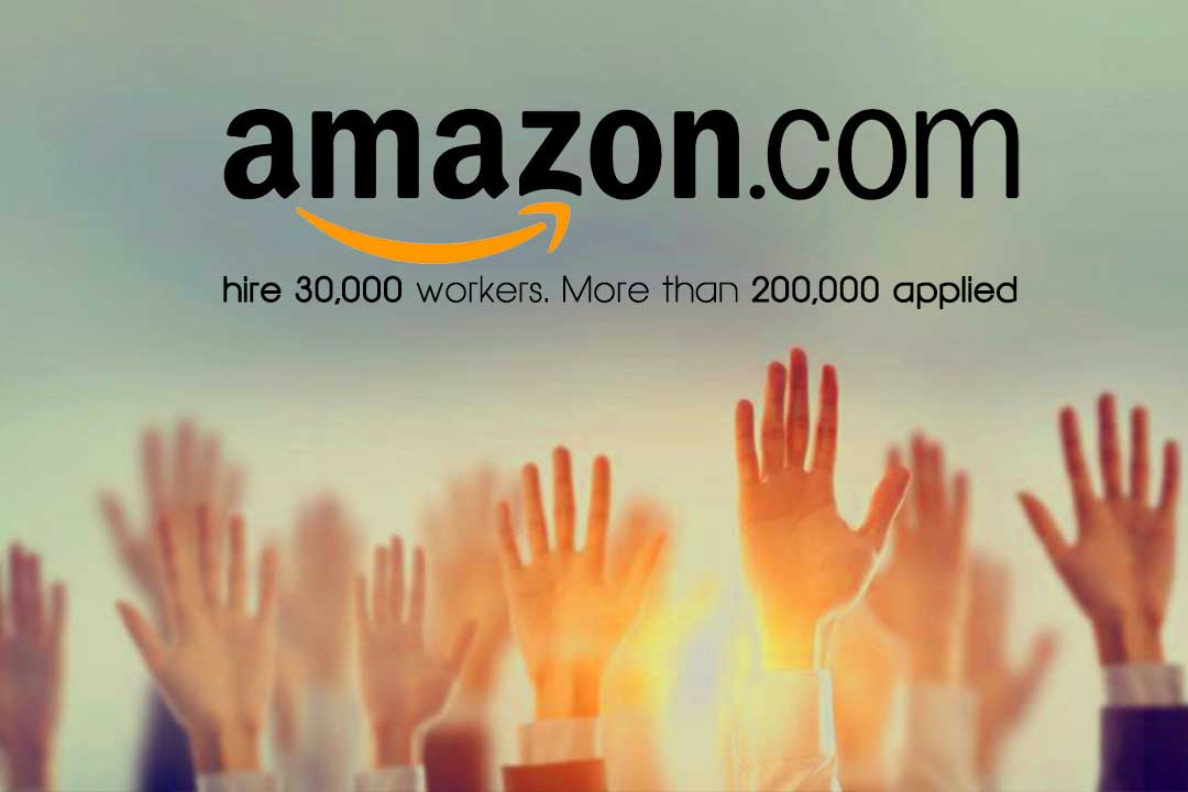 Amazon going to hire 30,000 Employees in the United States