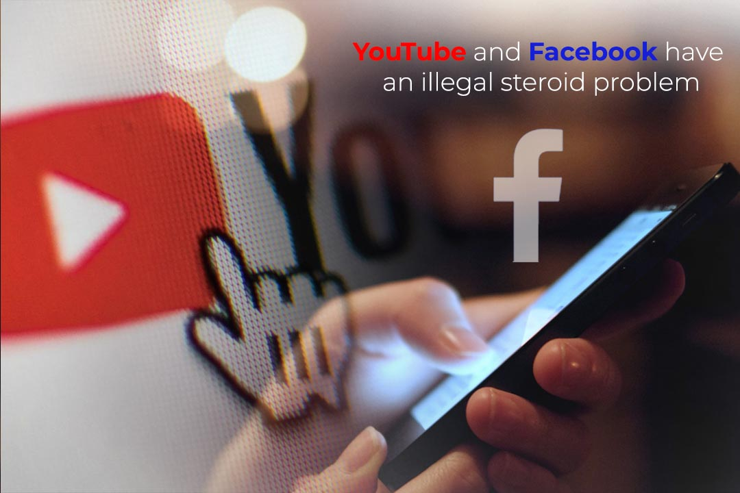 YouTube and Facebook are easy mediums to buy Steroid