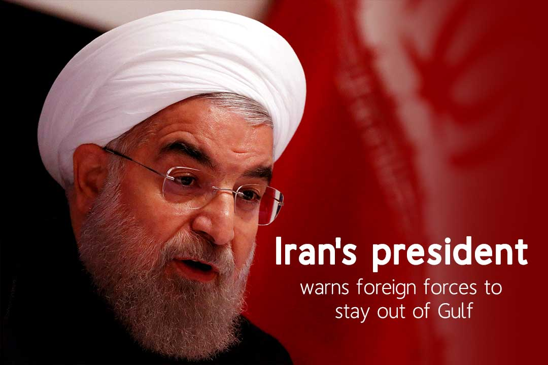 Iran Threaten the Foreign Forces to Stay Away from Gulf