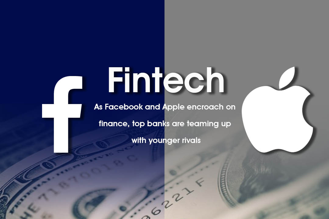 Bi Banks are teaming up with start-up rivals to beat Apple & Facebook