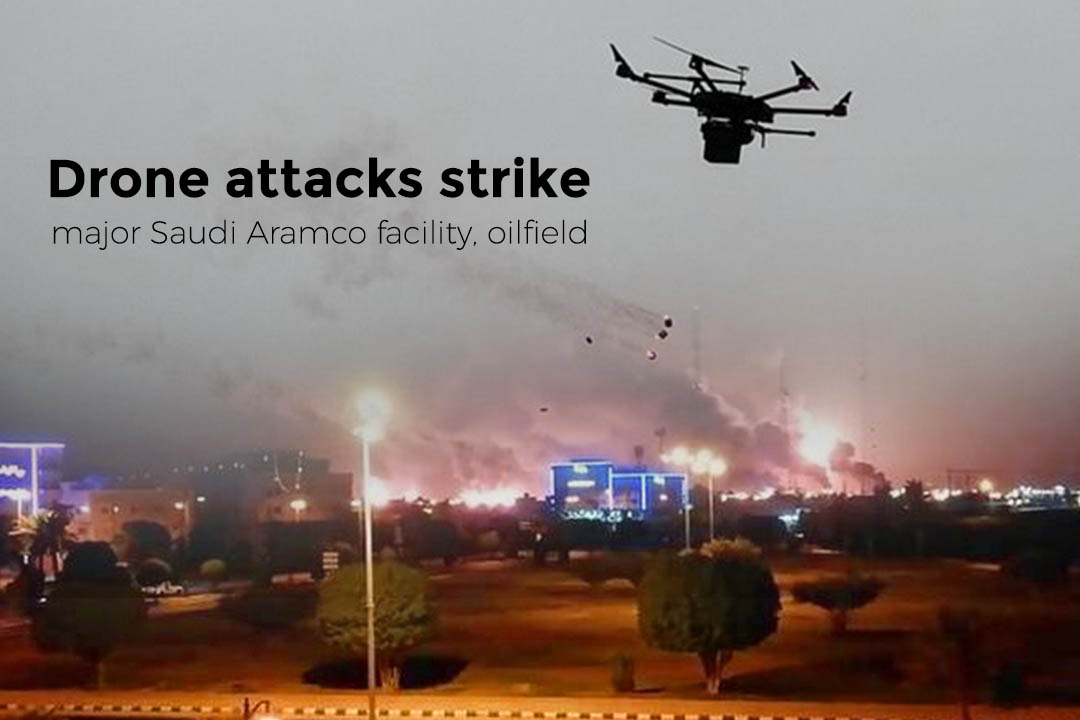 Saudi Aramco Facility, Oilfield Hit with Drone Attacks