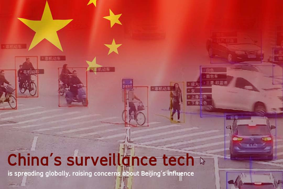 Surveillance Tech of China is spreading Internationally