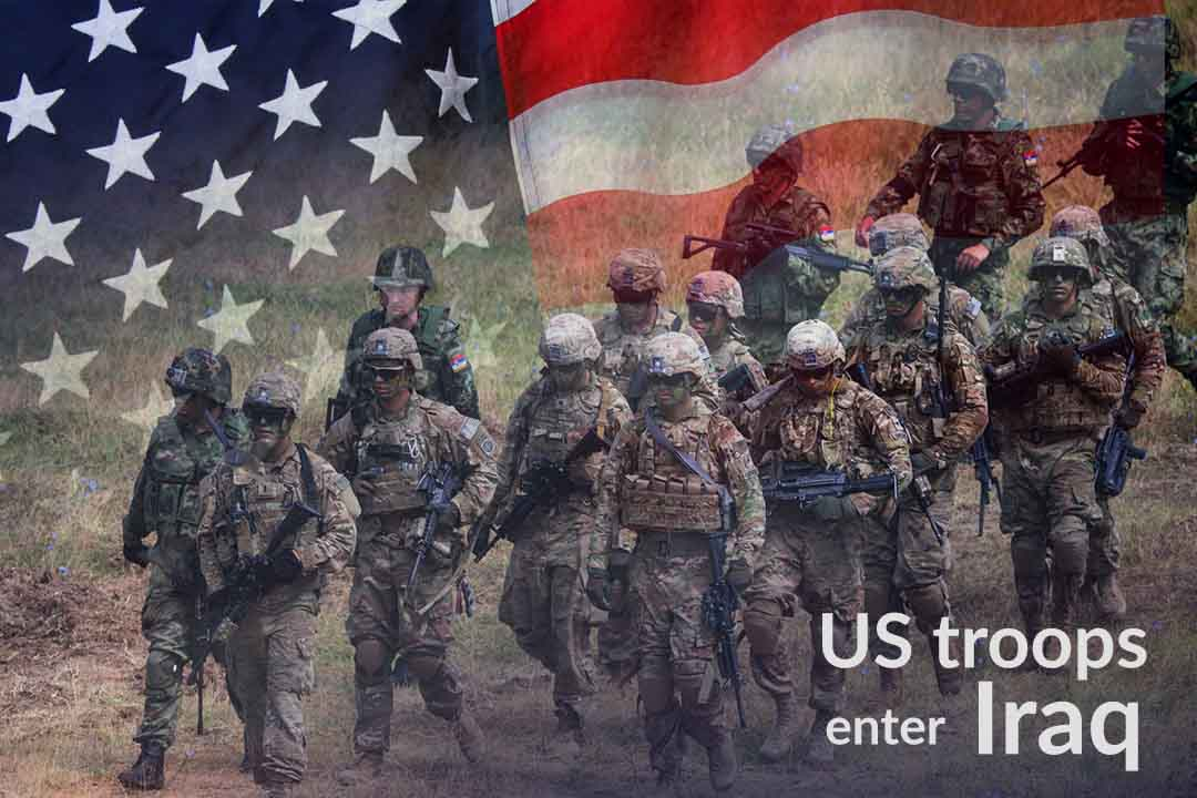 United States Troops reached Iraq after leaving Syria