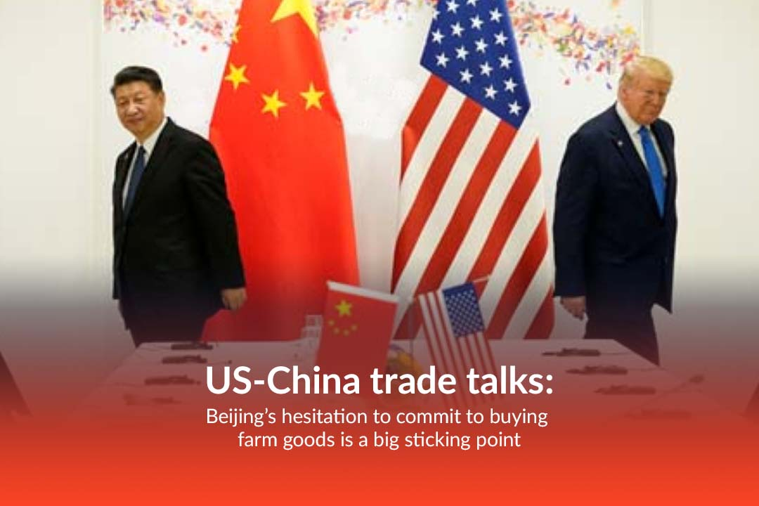 Beijing is Showing Hesitation to buy United States Farm Goods