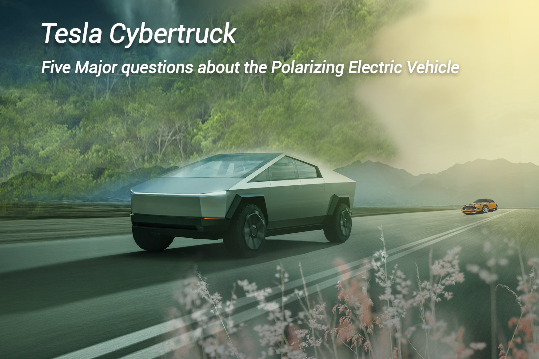 Five Major questions about the Polarizing Electric Vehicle