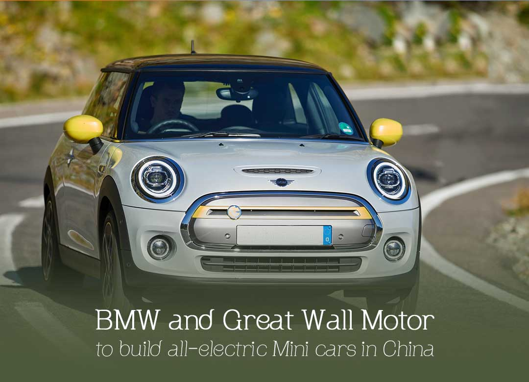 BMW and Great Wall Motor to make all-electric Mini Cars in China