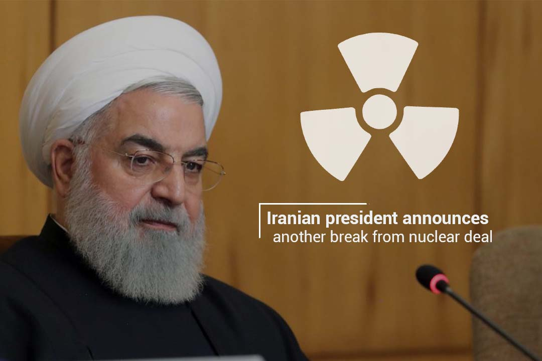 Hassan Rouhani declared another break from Nuclear Deal