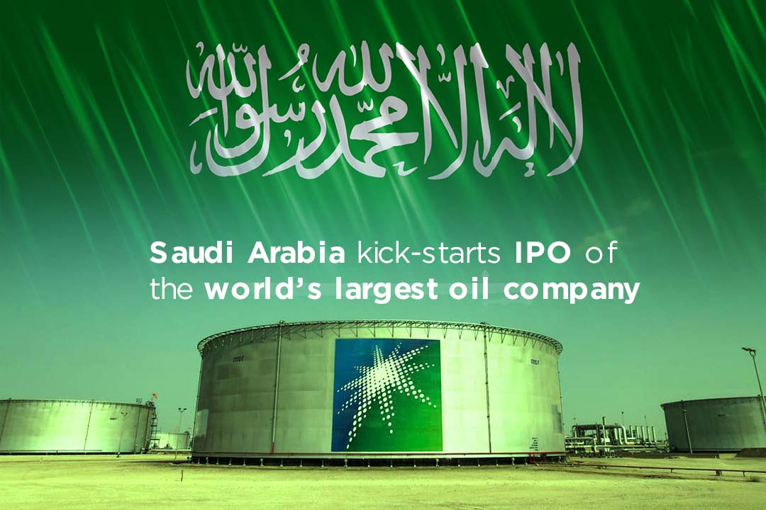 Saudi Arabia initiated Initial Public Offering of Aramco