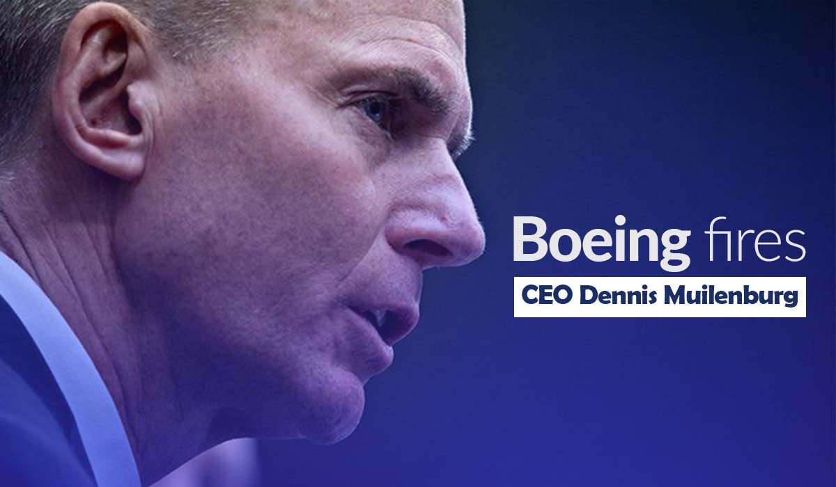Boeing Fires its CEO Dennis Muilenburg after 737 Max Crisis