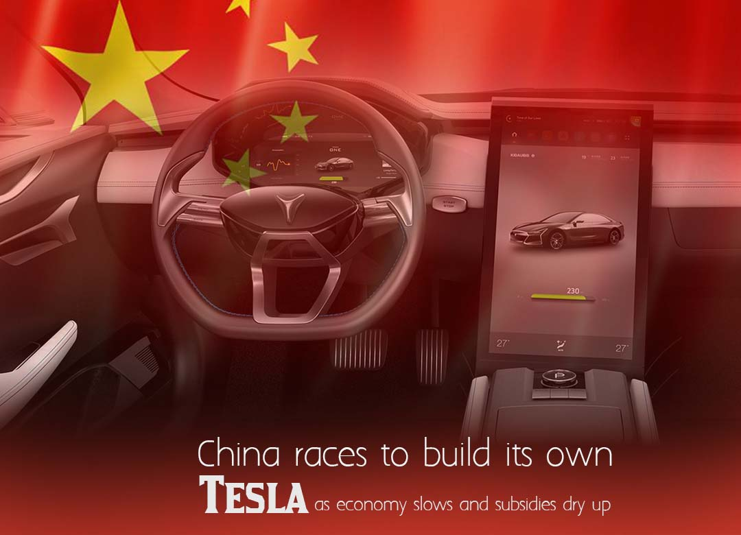 China struggles to make its own Tesla as Supports dry up