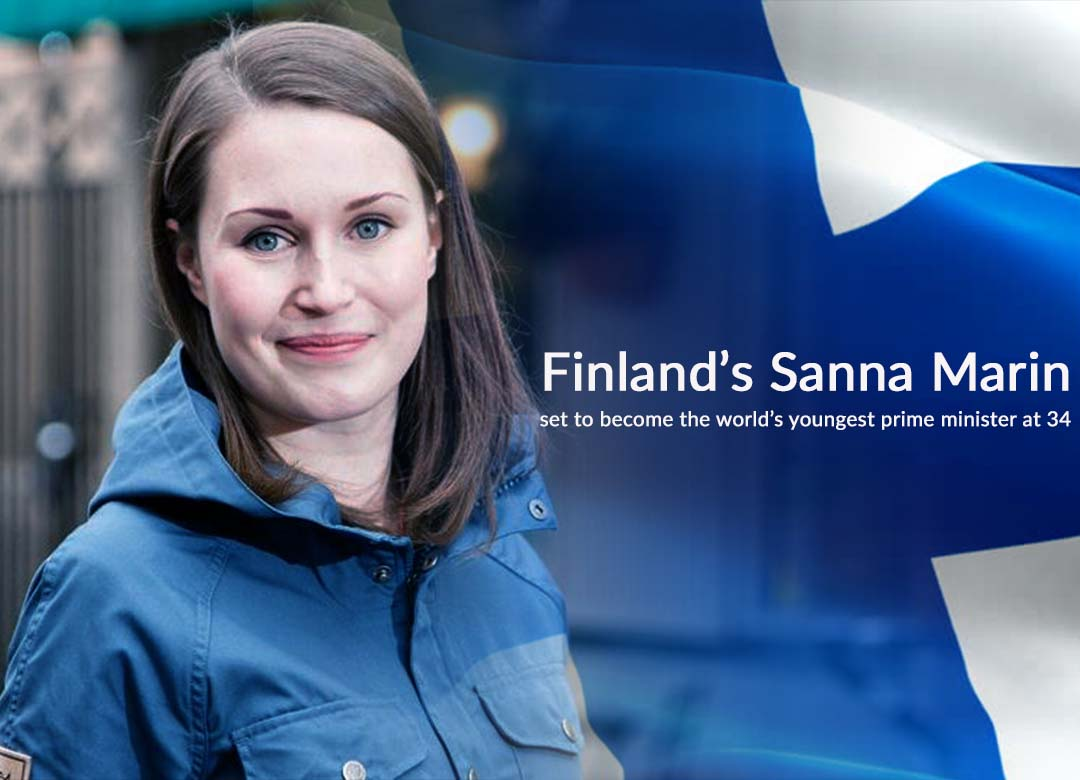 Sanna Marin of Finland set to become the Youngest PM of the World