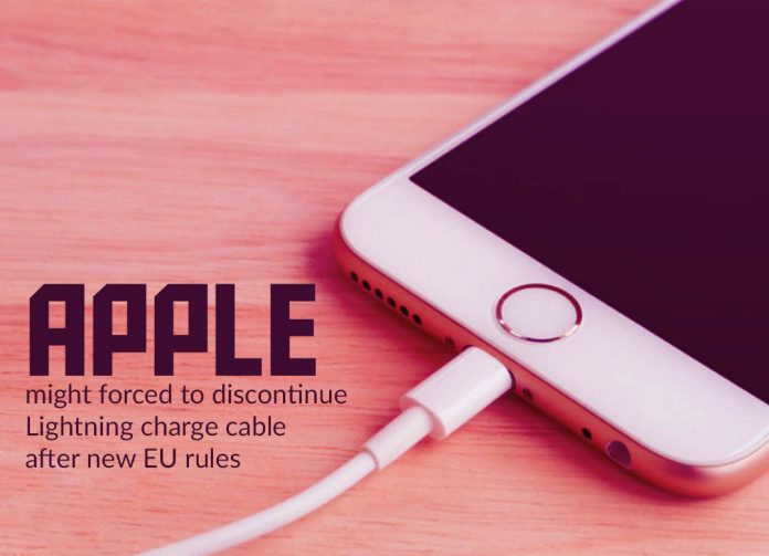 Apple might force to suspend Lightning charge cable after new EU rules