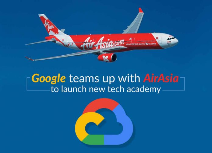 Google alog with AirAsia to launch AirAsia Google Cloud Academy