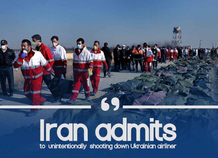 Iran confesses of unintentionally shooting down Ukrainian Plane