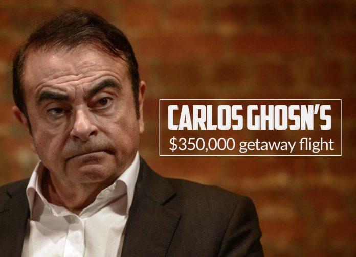 Nissan Former Chairman's $350,000 Escape Flight