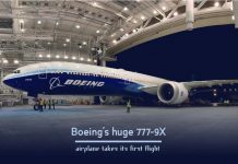 World's Largest Boeing 777-9X takes its maiden flight