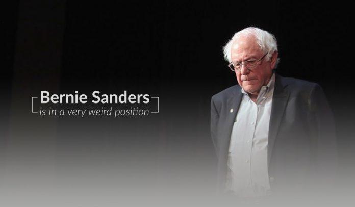 Bernie Sanders tooks a weird position – US 2020 Elections