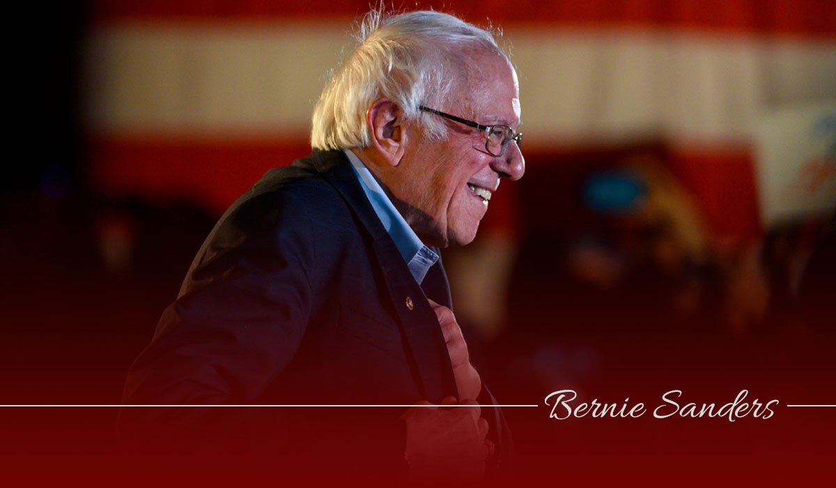 Bernie Sanders stands on weird position – 2020 US Elections