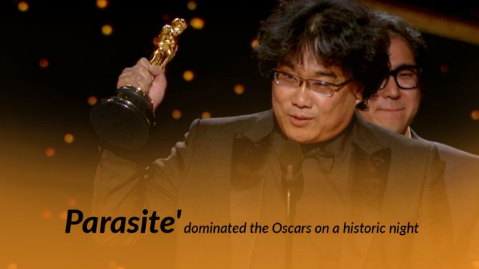 Comedy Thriller film Parasite conquered the 2020 Oscar Awards